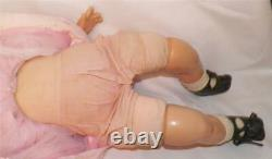Madame Alexander Little Genius Composition Doll Character Baby Vintage 23 in