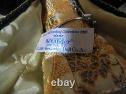 Madame Alexander MAME Doll TAGGED Dragon Coat, 2006 Williamsburg Convention, 10