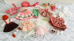 Madame Alexander PRETTY N PINK TRUNK SET doll & 28 acces ultra rare discontinued