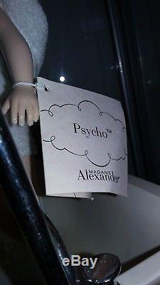 Madame Alexander PSYCHO 10 Doll w TUB Alfred Hitchcock RARE! HTF! MINT IN BOX