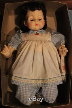 Madame Alexander Pussycat & MARY MINE-LOT OF 2 Large Vintage DOLLS-WithBOXES