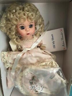 Madame Alexander RARE #28745 FILL MY HEART 8 Wendy Doll