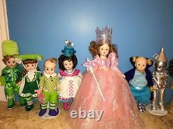 Madame Alexander RARE 8inch Wizard Of Oz Dolls
