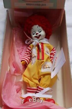 Madame Alexander Ronald McDonald 8 Clown Doll in original box Rare Retired