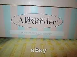Madame Alexander Sitting Pretty Yardley 21 Cissy NIB with Chair limited ed