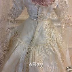 Madame Alexander VINTAGE 1949 LUCY BRIDE 17 HARD PLASTIC WENDY ANN