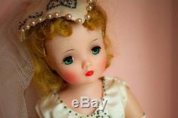 Madame Alexander Vintage Cissy Bride Doll with Pink Box + Wardrobe, Complete Set