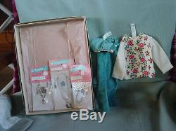 Madame Alexander Vintage Cissy Doll Mint In Box Rare Winter Knit Sweater Ensembl