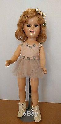 Madame Alexander Vintage Composition 21 Sonja Henie Doll Rare Skater