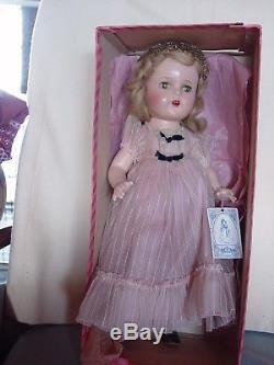 Madame Alexander Vintage Composition Princess Elizabeth Doll, Near Mint In Box Wi