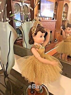 Madame Alexander Vintage Multiple Jointed Elise Gold Ballerina