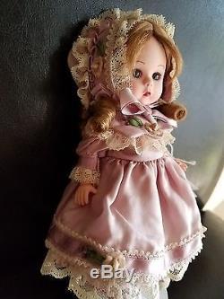 Madame Alexander Vintage Violet Silk Victorian 8 Inch Doll