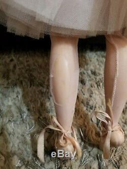 Madame Alexander Vtg. ELISE Ballerina Sleepy Eyes Jointed Hard Plastic Doll 15