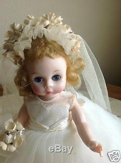 Madame Alexander WENDY IN BRIDAL GOWN #615-1956