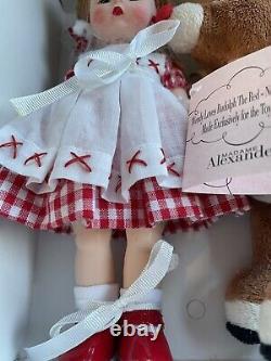 Madame Alexander Wendy Loves Rudolph #45755 NIB, 2006 Ltd Ed 462/500 RARE! WithCOA