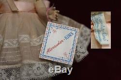 Madame Alexander-kins 1953'LITTLE SOUTHERN GIRL' withBox GORGEOUS