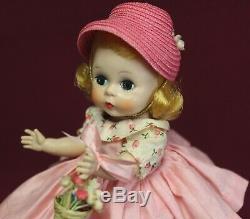 Madame Alexander-kins BKW Blonde Doll Wendy's Polished Cotton Dress