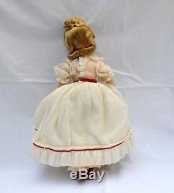 Madame Alexander-vintage-hard-plastic-little-women Amy Doll W Box & Curler-box