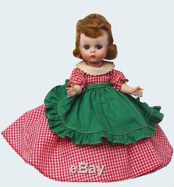 Mib 1955 8 Htf ##781 Straight Leg Walker-meg. Little Women. Madame Alexander