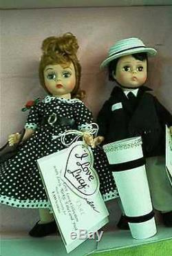 NIB Madame Alexander I Love Lucy 4 Doll Set FAO Schwarz LE Lucille Ball HTF