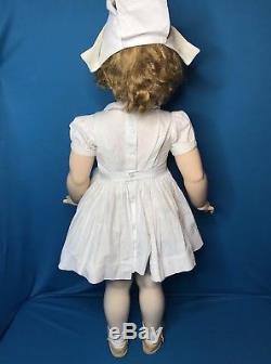 Nurse Joanie Doll 34Jointed Hard Vinyl RARE/HTF Playpal by Madame Alexander