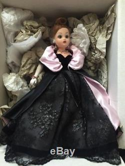 Onyx Velvet & Lace Gala Gown & Coat 21'' CISSY Doll by Madame Alexander, LE
