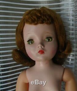 Pretty Vintage 1950s 20 Alexander Cissy Doll Brunette Nude