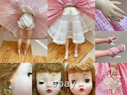 Pretty in Pink! Lovely Vintage Cissy in Repro Pink Gingham