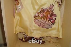RARE 16 COMPOSITION 1938 MADAME ALEXANDER SNOW WHITE DOLL Orig Box Tags DISNEY