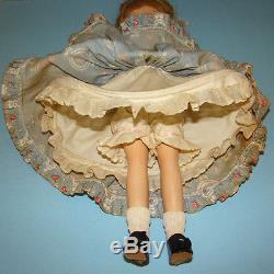 RARE C1940 Madame Alexander Madelaine du Bain Doll Strung Composition 15 Inch