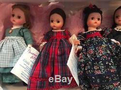 RARE FAO Schwarz Madame Alexander LE Set of 5 Little Women 1994 FREE SHIPPING