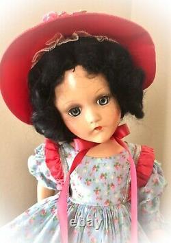RARE GOWN on 18 Madame Alexander SCARLETT OHARA Vintage Composition Doll