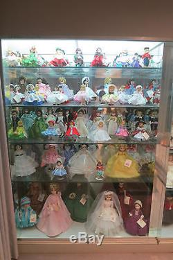 RARE MASSIVE 150 Madame Alexander Doll Collection with Boxes 70's & 80's Lot