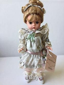 RARE Madame Alexander Treasured Silk Victorian 8 Doll #28720