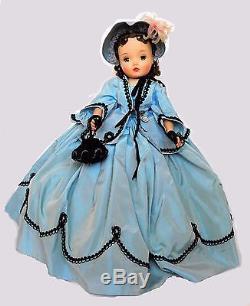RARE Vintage 1961 Madame Alexander CISSY as SCARLETT O'HARA Portrait Doll 20