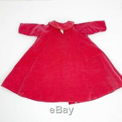 RARE Vintage Madame Alexander CISSY Rose Velvet Coat from 1955