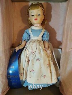 RARE Vtg 1950's Madame Alexander Little Women AMY 14 Doll 1st PLACE Ribbon MADC