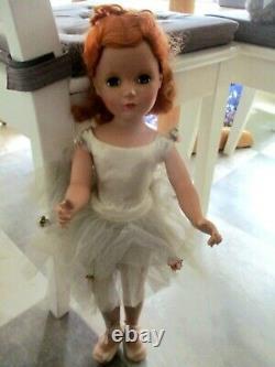 Rare 1950's Madame Alexander Redhead Margaret Face Nina Ballerina 20 Orig. Doll