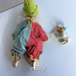 Rare 1955 Madame Alexander Baby Clown #464 Slw