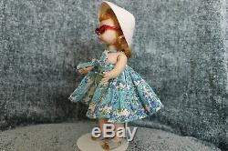Rare 1958 Madame Alexander 8 BKW Doll Wendy In Cabana Outfit