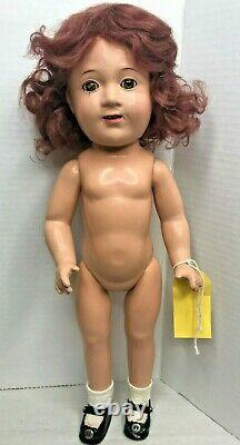 Rare JANE WITHERS 15 Composition Doll by Madame Alexander Vintage 1930s