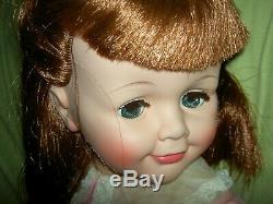 Rare MIB 1959 vintage, lb'd. Flirty Madame Alexander BETTY doll 30 playpal size