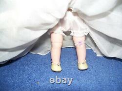 Rare Vintage Madame Alexander 8 BKW Wendy Alexander-Kins Bride #470