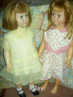 Rare, original 1959 vintage, flirty Madame Alexander BETTY doll 30 playpal size