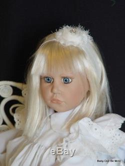 Retired Hildegard Gunzel 1991 Heide 26 Vinyl Doll with a Slight Makeover