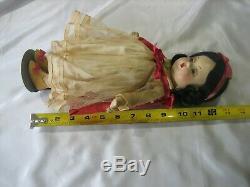 Snow White Madame Alexander Full Body Composition Doll Circa 1930's