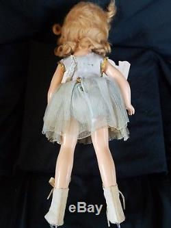 Sonja Henie Rare Early Vintage Madame Alexander Doll Antique NY With Box & Tag
