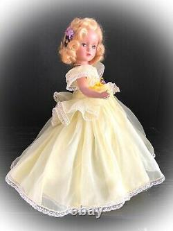 Stunning 14 Madame Alexander HP PRINCESS MARGARET ROSE withFamous Seamstress Gown