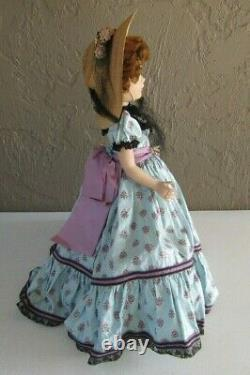 Stunning Museum Quality 1953 Madame Alexander Picnic Day Glamour Girl 18 Doll