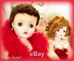 Stunning Vintage Madame Alexander Cissy Doll Blue Eyes Brunette Updo